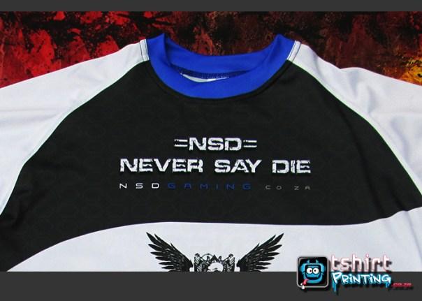Gamer tshirt print