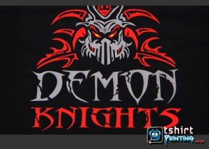 vinyl-tshirt-printed-demon-knight-sports-team