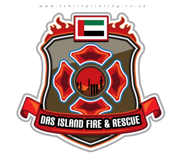 UAE-fire-fighter-badge-embroidery-design-logo-design