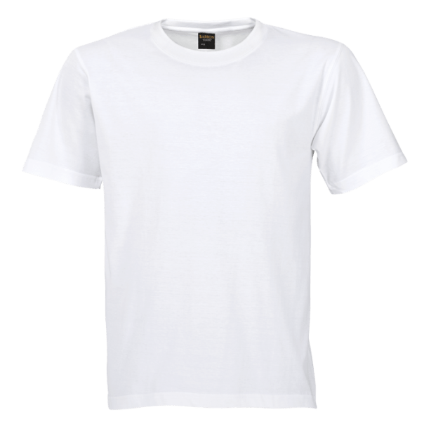 Free white clean tshirt template