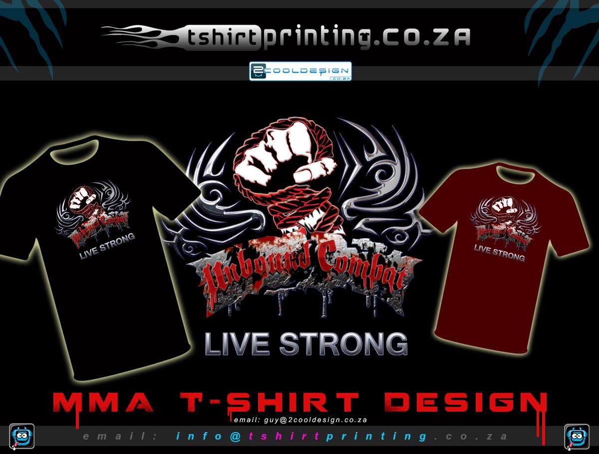 T shirt design za - Mma Tshirt Design Printing