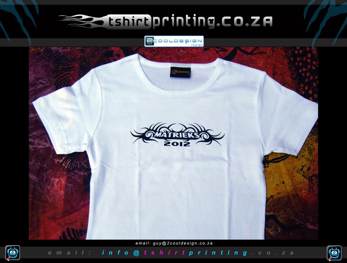 T shirt design za - Custom Matric Shirts
