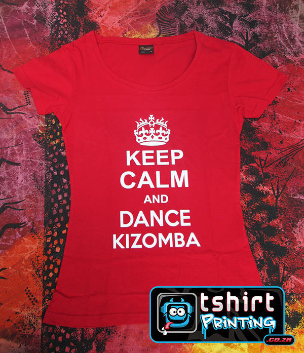 custom keep calm printed shirt