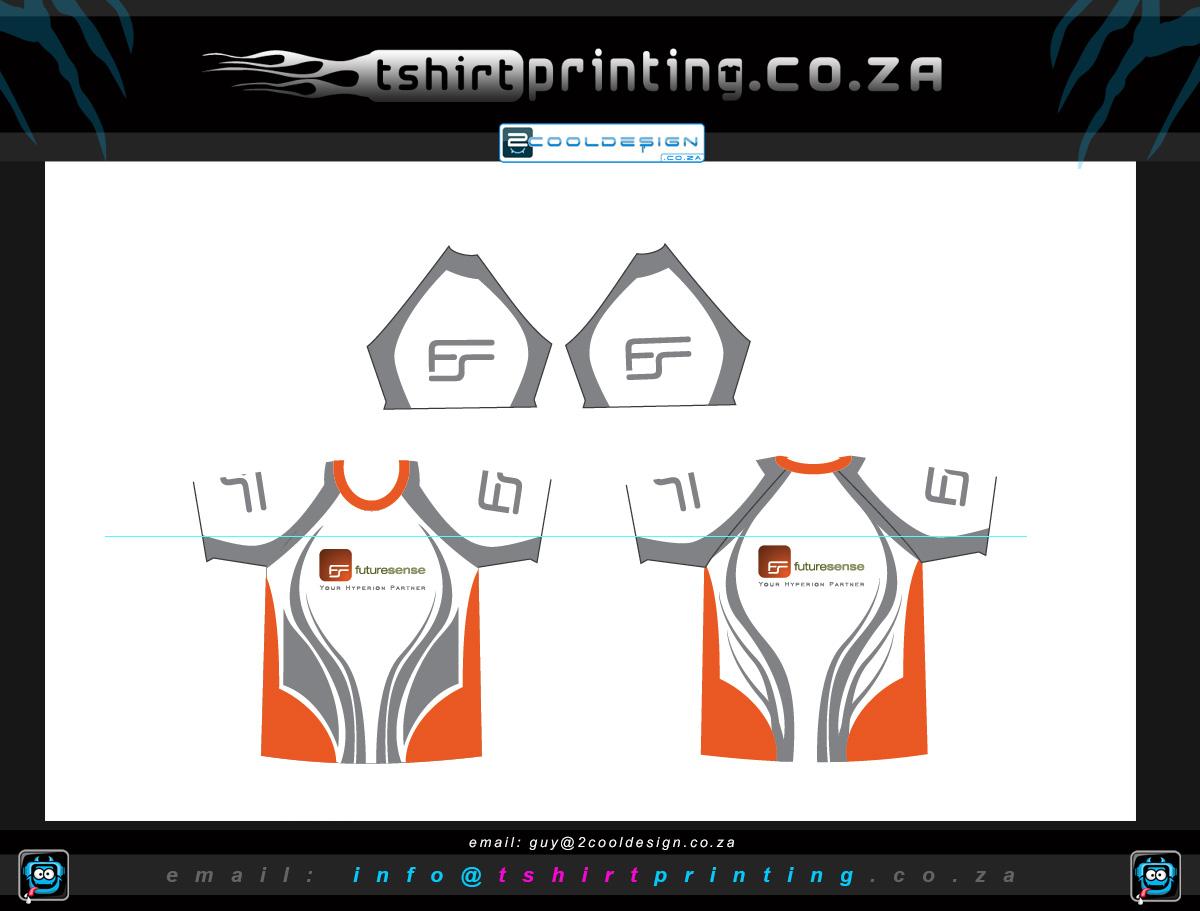 T shirt design za - Running Club Shirt Printing