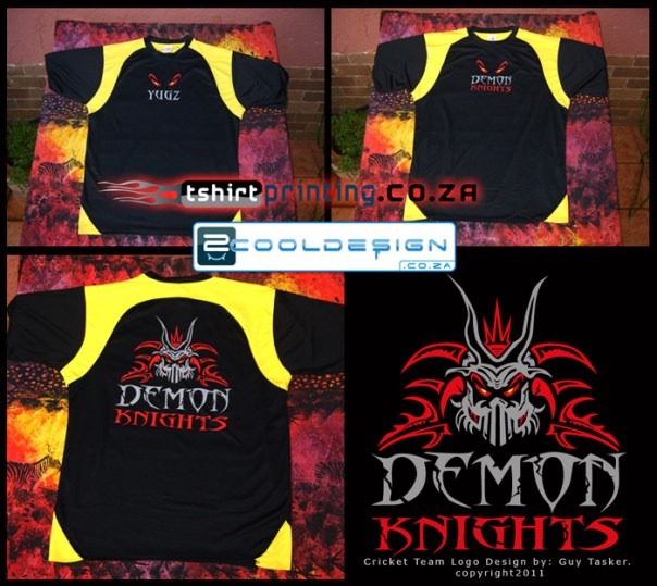 demon-knights-action-cricket-team shirts first idea