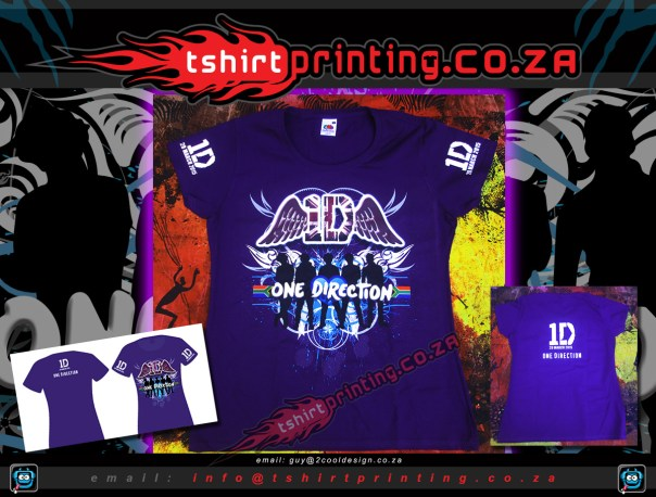 DTG,DTG print,custom-design-1direction-fan-shirt-for-concert