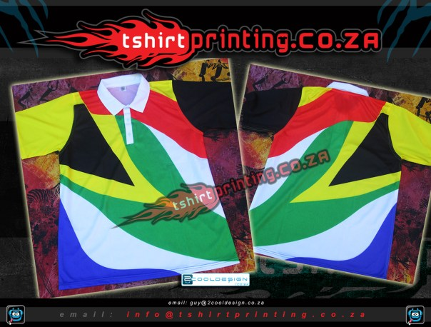 South African Golfer shirt