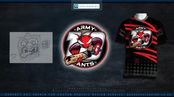 cricket team logo cool - Team T Shirt Design Ideas