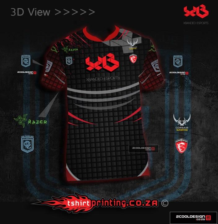 esports team jerseys concept