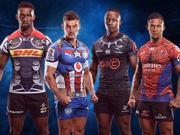 Super HERO -Rugby-SHIRTS