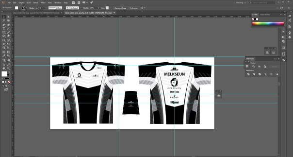gamer-shirt-black-and-white-template-design 20