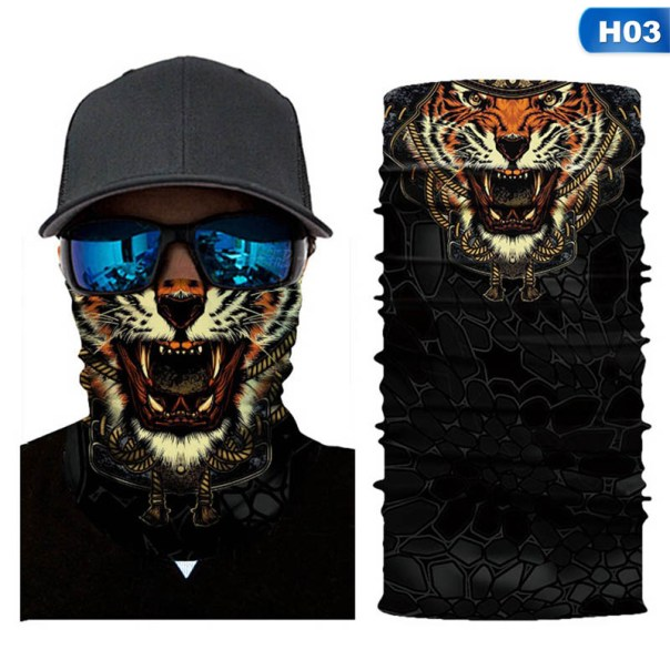 tiger bandana printer