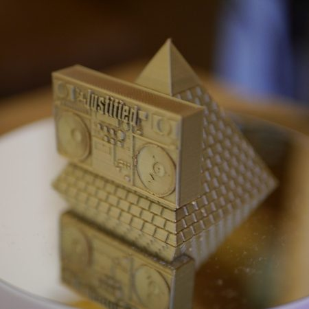 Pyramid Blaster 3d Print Model