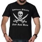 Pirate TShirts and Shirts