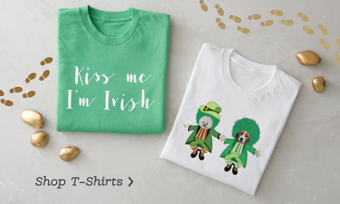 St Patrick's Day Shirts and Tees