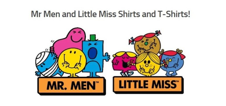 Mr.Men and Little Miss T-Shirts