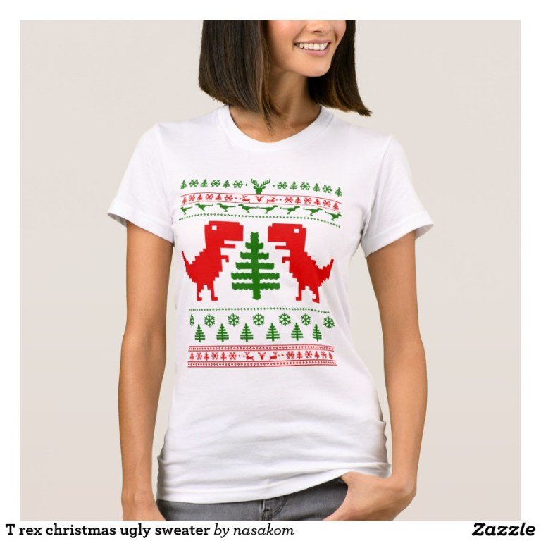 Ugly Christmas Sweater Shirts, TShirts, and Sweaters!