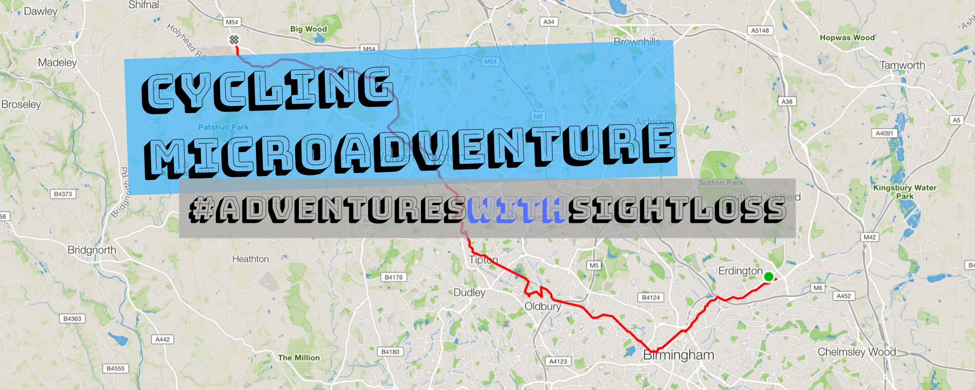 ycling Microadventure - adventures with sightloss