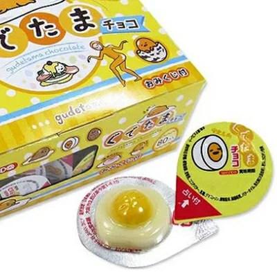 日本 丹生堂 蛋黃哥占卜巧克力 (80入/1盒)【現貨】
