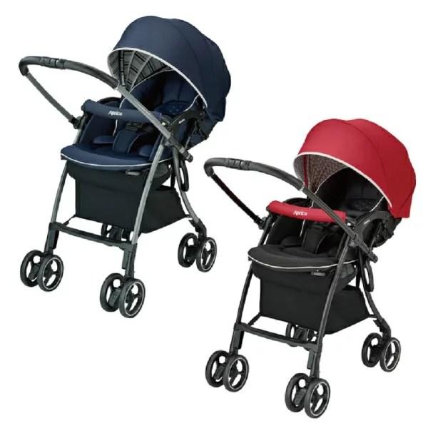 10大 Aprica LUXUNA Cushion 四輪自動定位嬰兒車 (共2色任選) 推薦【2019年版】 - 小可小朵寶貝生活誌