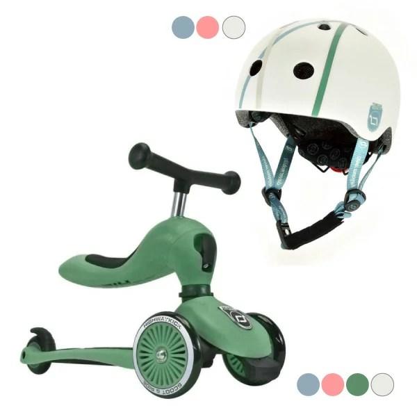 奧地利 Scoot & Ride Cool飛滑步車/滑板車(4色可選)+運動用頭盔(3色可選) | 麗兒采家 - Rakuten樂天市場