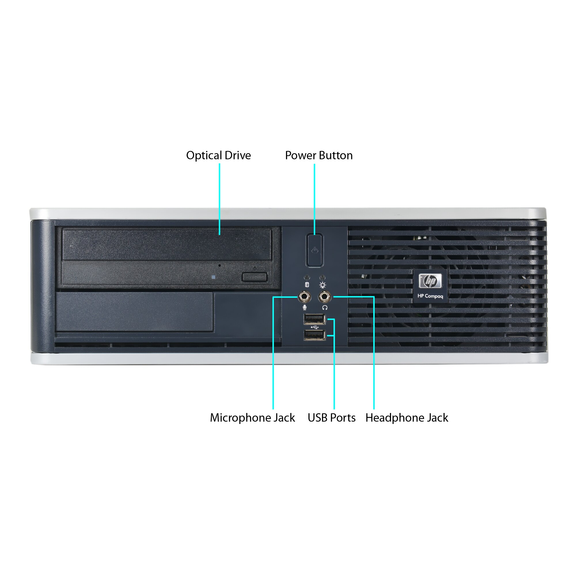 Joy Systems Hp Compaq Dc Small Form Factor Intel C2d 3 0ghz 4gb Ram 160gb Hdd Dvd Win