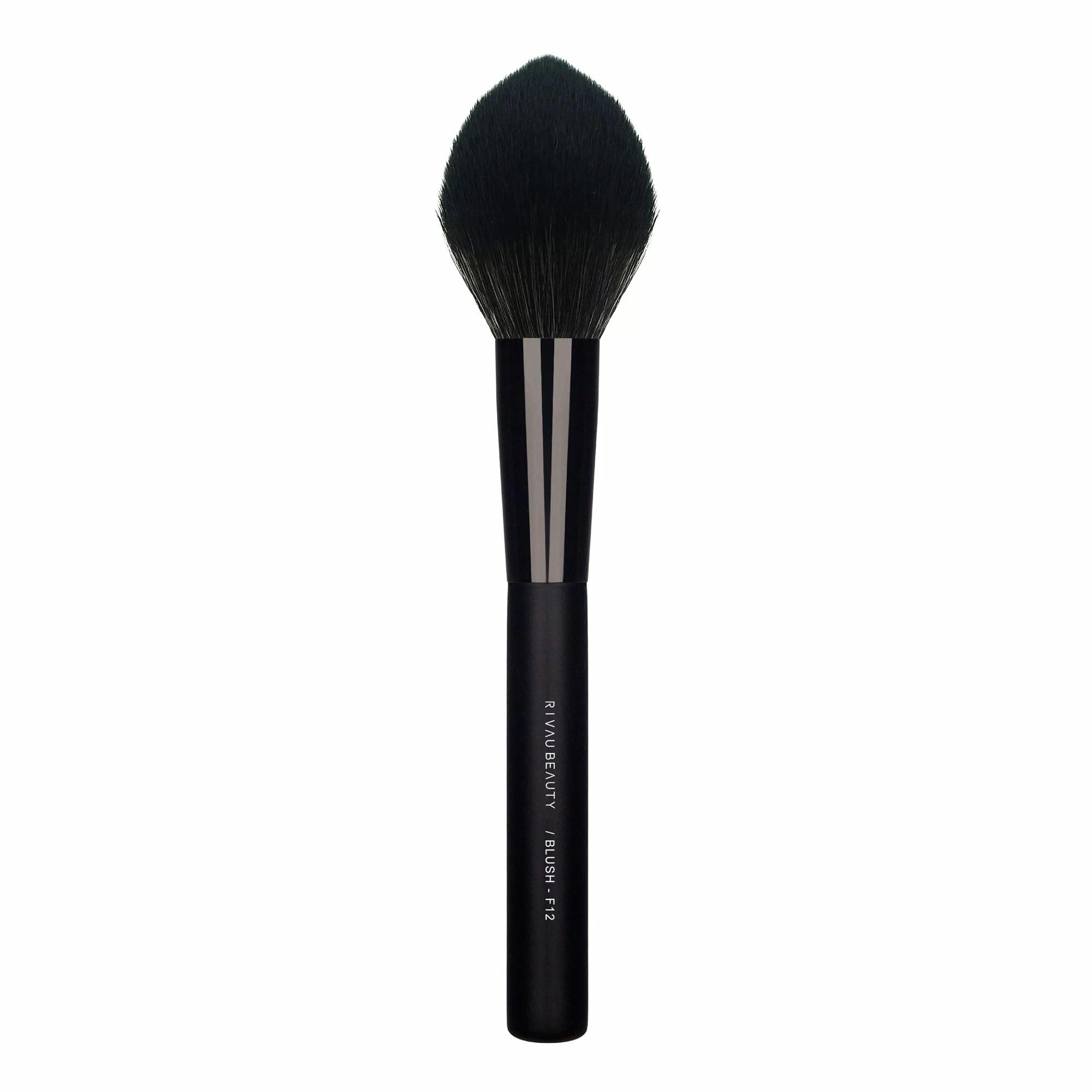 F12 腮紅刷 - 黑色系列 / 可當蜜粉刷 化妝刷 刷具 美妝 工具 IG 網紅 推薦 禮物   RivauBeauty - Rakuten樂天市場