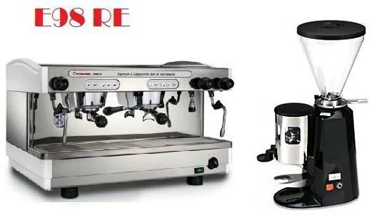 租購Faema半自動咖啡機- Faema E98雙孔營業用咖啡機+磨豆機 (每個月租購只要5000元)--【咖啡簡餐店適用的咖啡機 ...