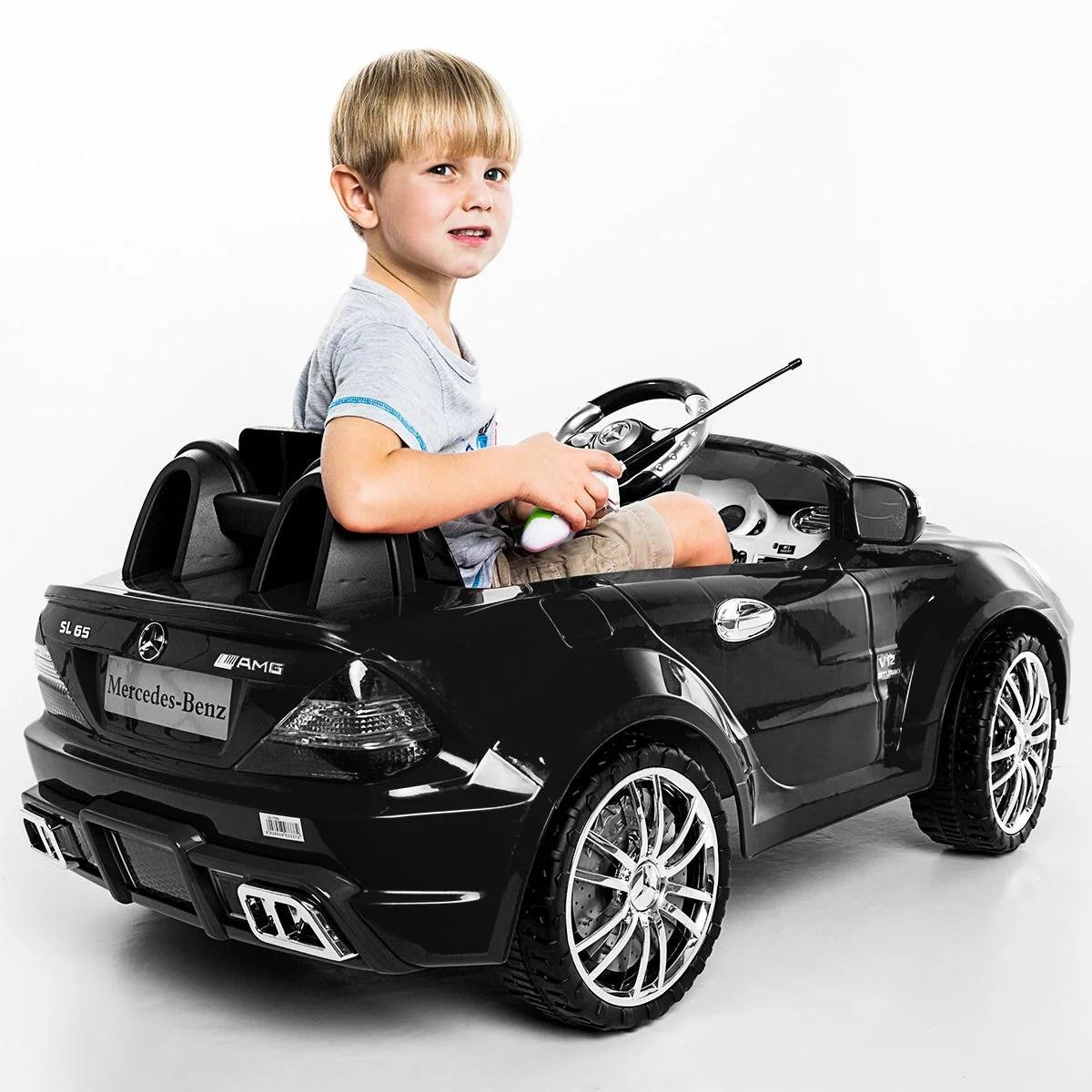 Costway Costway 12v Mercedes Benz Sl65 Electric Kids Ride