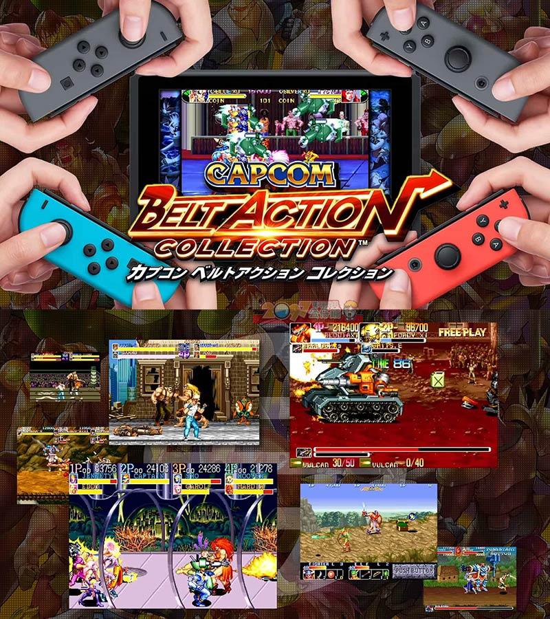 NS 卡普空經典動作合輯 橫向捲軸 -中文日文英文純日版- Switch Capcom Belt Action   2097 電玩玩具公仔舖 - Rakuten樂天市場