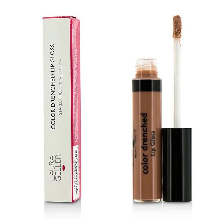 【限時活動搶便宜】Laura Geller 絕色亮澤唇彩Color Drenched Lip Gloss - #Milk Shake 9ml/0.3oz