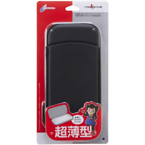 Nintendo Switch CYBER ・ セミハードケース スーパースリム ( SWITCH 用) ブラック