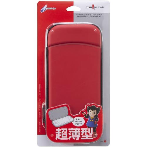 Nintendo Switch CYBER ・ セミハードケース スーパースリム ( SWITCH 用) レッド