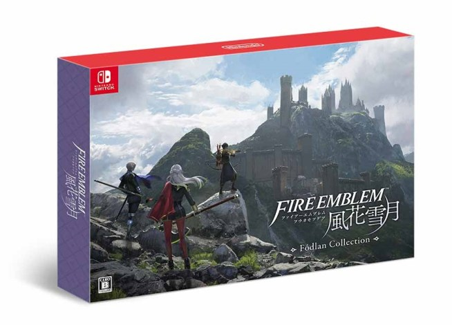 Nintendo Switch ファイアーエムブレム 風花雪月 Fodlan Collection