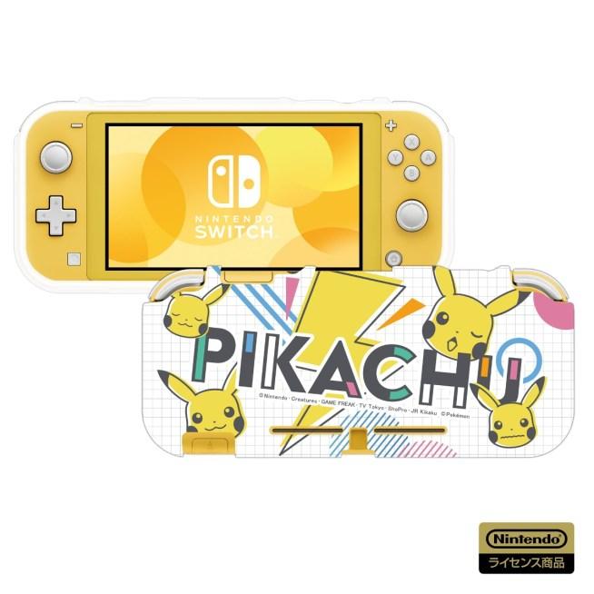 Nintendo Switch TPUセミハードカバー for Nintendo Switch Lite ピカチュウ - POP