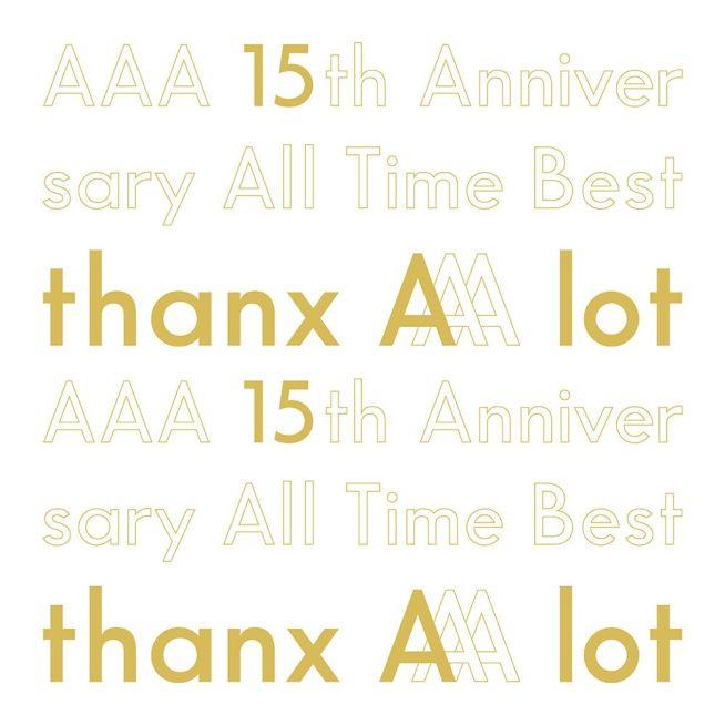 AAA 【楽天ブックス限定先着特典】AAA 15th Anniversary AllTime Best -thanx AAA lot- (初回限定盤 5CD+スマプラ) (缶ミラー付き)