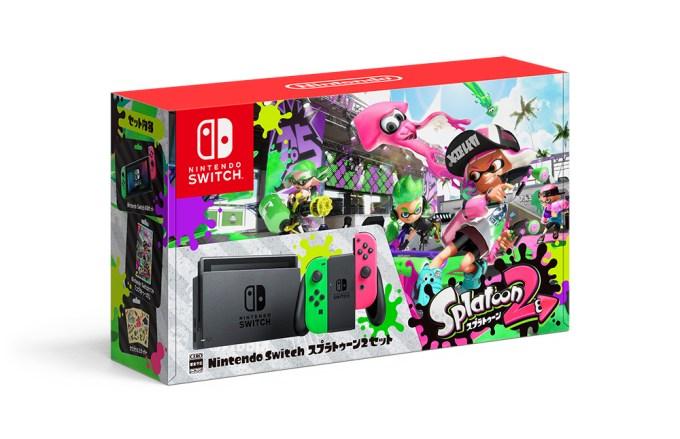 「Nintendo Switch スプラトゥーン2セット」を楽天で購入