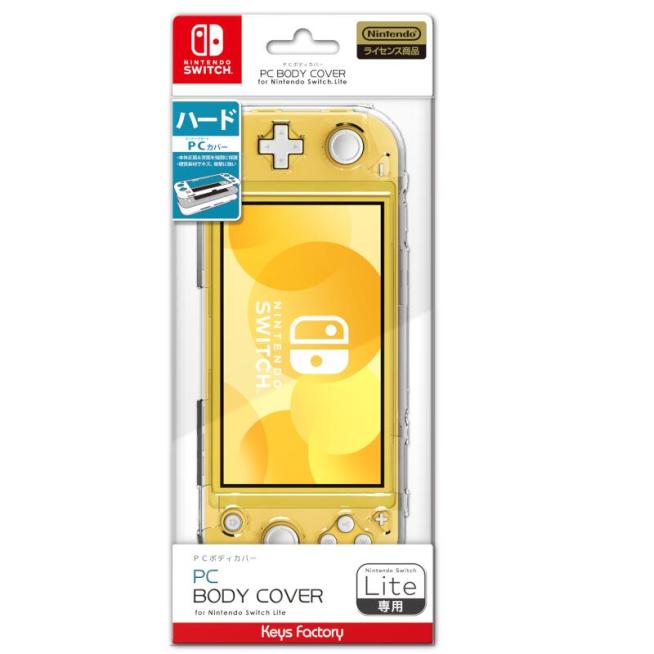 Nintendo Switch PC BODY COVER for Nintendo Switch Lite クリア