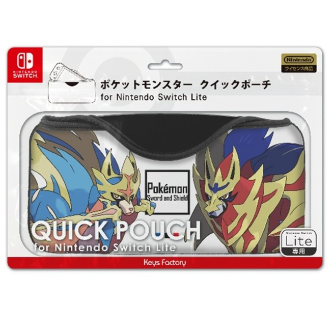 Nintendo Switch Lite ポケットモンスター クイックポーチ for Nintendo Switch Lite レジェンド