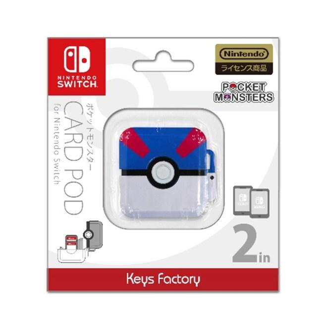 Nintendo Switch ポケットモンスター カードポッド for Nintendo Switch スーパーボール