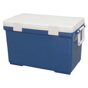 クーラーボック45Lブルー/ホワイトCL-45送料無料アイリスオーヤマひんやりボックスクール用品ひんやりグッズおでかけキャンプアウトドア防災グッズ