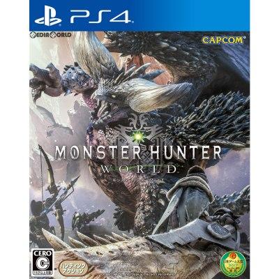 【新品即納】[PS4]MONSTER HUNTER: WORLD(モンスターハンター:ワールド) 通常版(20180126)