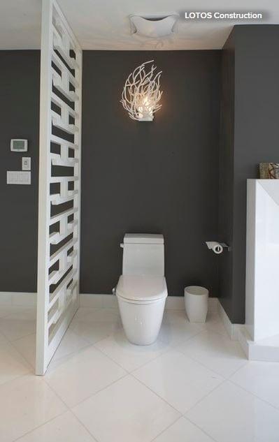 Hide the toilet