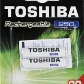 ΕΠΑΝΑΦ ΜΠΑΤΑΡΙΕΣ AAA Toshiba 950mAh 2τεμ