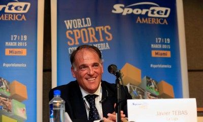 Javier Tebas says whistling the Spanish national anthem is wrong