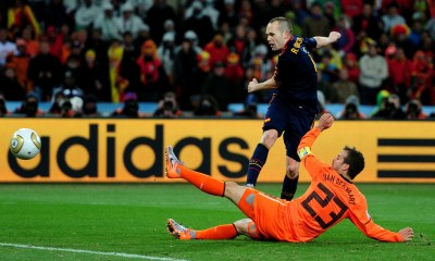 France Football apologizes to Andres Iniesta