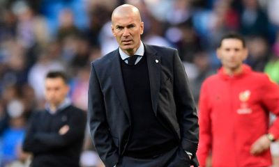 Zidane leaves Real Madrid