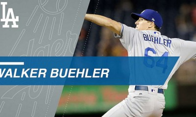 Walker Buehler Combines for a No-Hitter
