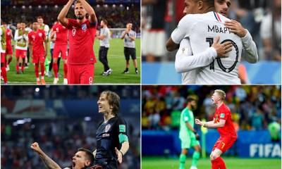 World Cup 2018 Semifinals Fixture, England, Belgium, France And Croatia