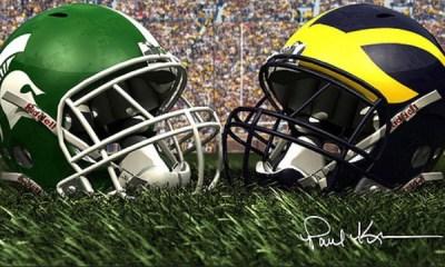 The Battle For Bunyan: Michigan vs MSU Rivalry Game 2018